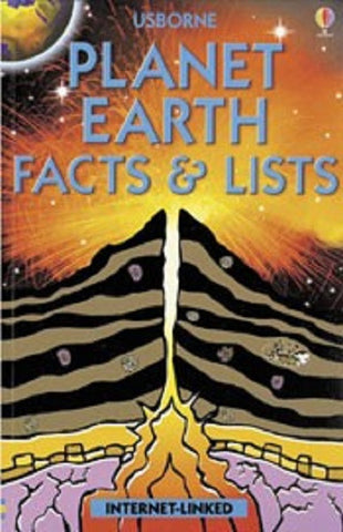 Usborne Book: Planet Earth Facts & Lists