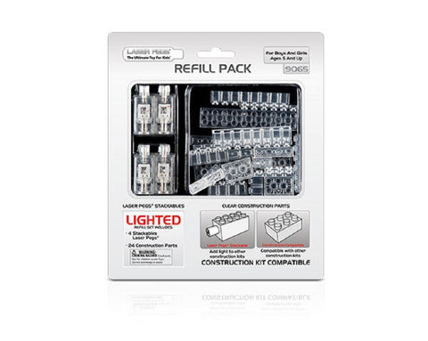 Laser Pegs Lighted Construction Refill Pack