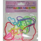 LOVE Top Trenz Glow-in-the-Dark Rubber Band Bracelets 12pk