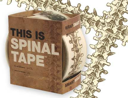 Smart Wrap SPINAL TAPE: 1.75 Inches by 27 Yards