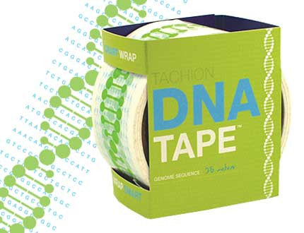 Smart Wrap DNA Tape: 1.75 Inches by 27 Yards