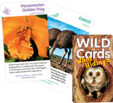 Wild Cards:Who's Hiding? 3 Games In One Animal Deck