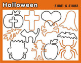Halloween: Religous Faith Bands Rubber Band Bracelets 12pk