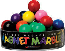 Magnetic Marbles: Solid Colored: Set of 20