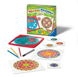 2 in 1 Mandala Designer  Arts & Crafts Kit by Ravensburger - CLASSIC