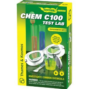 Thames & Kosmos Chem C100 Test Lab Chemistry Kit