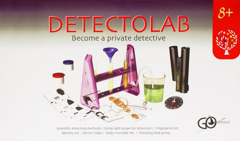 DetectoLab Detective Education Toy: Crime Scene Investigator