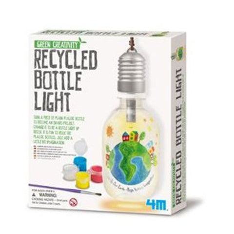 Recycled Bottle Light Activity Kit by 4M