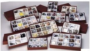 Comprehensive Mineral Physical Property 126 Piece Rock Collection