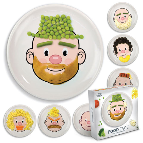 Mr. Food Face Plate - Make Faces at the Table