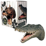 Gator Attack Wall Hook Hanging Crocodile Art  Plaque