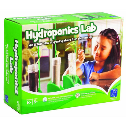 Hydroponics Lab; Growing Plants; Roots & All