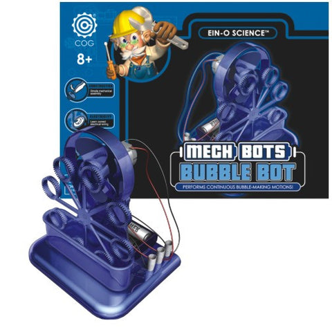 Ein-o Science- Mech Bot- BUBBLE BOT-Mechanical  Kit