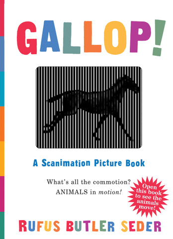 Scanimation Picture Book - GALLOP!