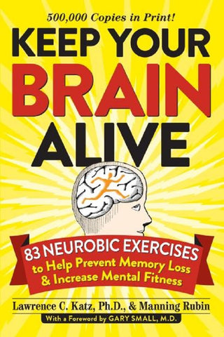 Keep Your Brain Alive Book by Workman Publishing