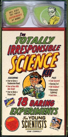 Totally Irresponsible Science Kit - 18 Daring Experiments for Young Scientists
