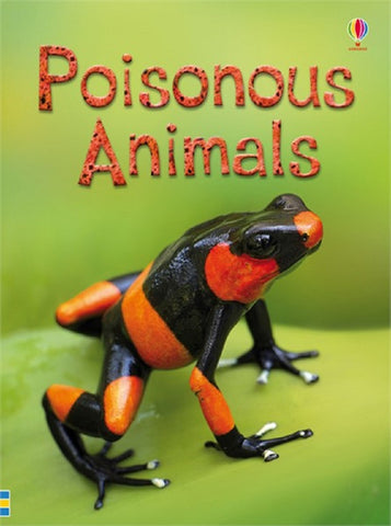 Poisonous Animals - Usborne Book - Beginners Reader Ages 6+