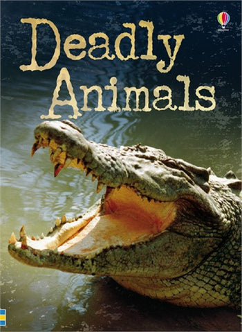 Deadly Animals - Usborne Paperback Discovery Adventure Book