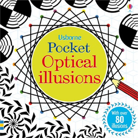 Pocket Optical Illusions - Usborne Book - Ages 6+
