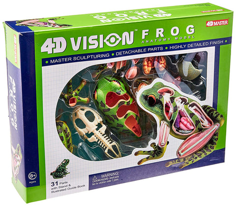 4D Vision Frog Anatomy Model 3D CutAway Puzzle Toy