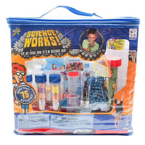Be Amazing! Science Works! S.T.E.M. Science Activity Kit