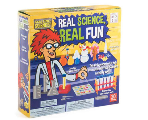 Be Amazing! Real Science, Real Fun S.T.E.M. Activity Kit