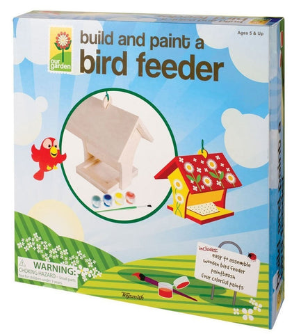 Build and Paint a Bird Feeder, by Toysmith