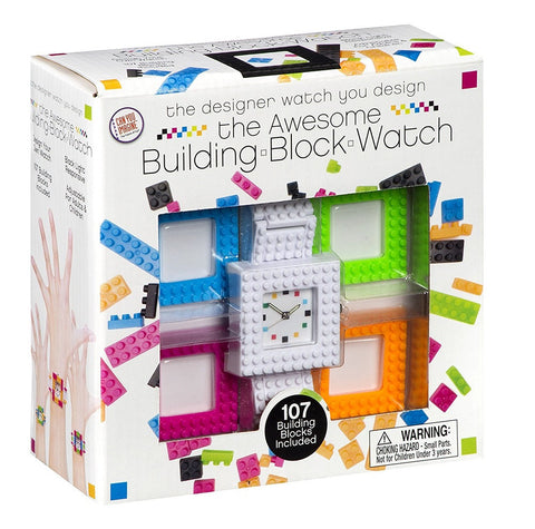 Building Blocks Watch, by Can You Imagine