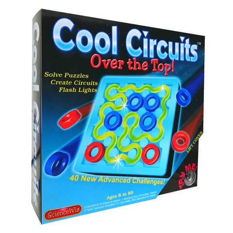 Science wiz cool circuits led puzzle over the top 2017 edition