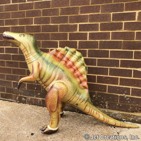 Inflatable Spinosaurus Dinosaur Model - 31 Inch Tall Dinosaur Figure