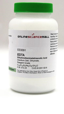EDTA Disodium Salt, Dihydrate Powder, 1kg - Reagent Grade Chemical Reagent