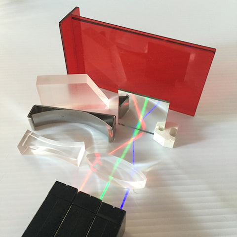 Light Blox - Elementary Reflection and Refraction Kit - Optics Experiments
