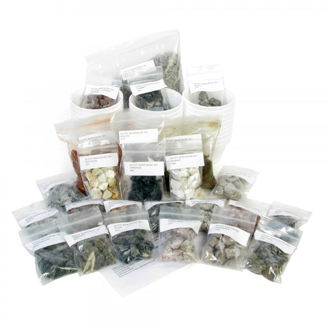 Earth Materials Classroom Kit w/Rock and Soil Samples, and Teacher's Guide