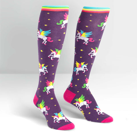 5f21cdcee45 Sock It To Me Winging It Knee High Socks – Online Science Mall
