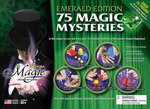 Royal Magic - Jewels of Magic Series: Emerald Edition w/75+ Magic Mysteries