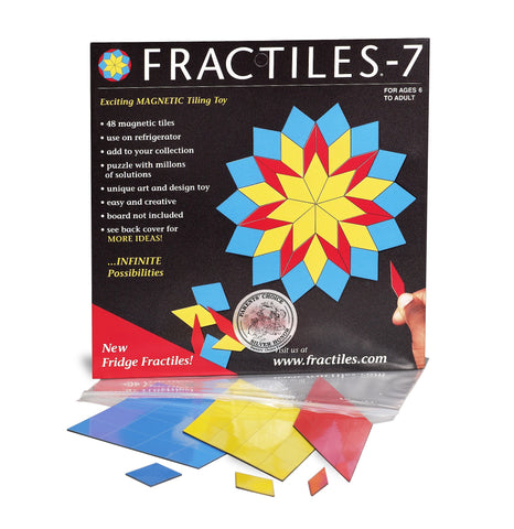 Fridge Fractiles 7 - Magnetic 48 Piece Set