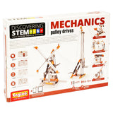 Engino Discovering STEM Mechanics Pulley Drives Building Kit