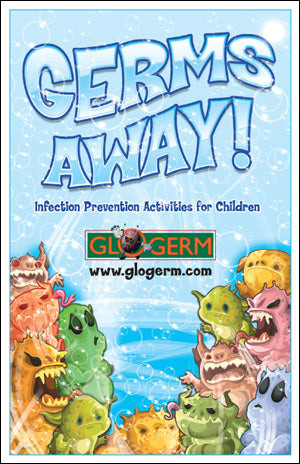 Glo Germ 'Germs Away!' Children's Activity Workbook for Hygiene Safety