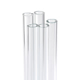 Borosilicate Glass Tubing: 4mm x 12 Inches: Pack 5