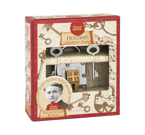 Great Minds Houdini's Escapology Puzzle Lock by Professor Puzzle