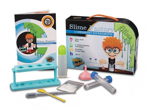 Slime Factory Science Kit - 5 Chemistry Experiments