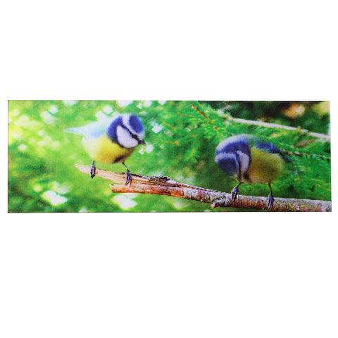 Animated Blue Tit  Birds 3D Bookmark - Ruler By Emotion Gallery