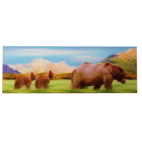 Animated Bear Family Bookmark - Ruler By Emotion Gallery