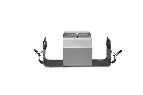 Aluminum D-Cell Battery Holder: Pk/10