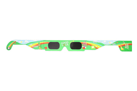 Good Luck Holographic Glasses Good For St Patricks Day Quantity Discount