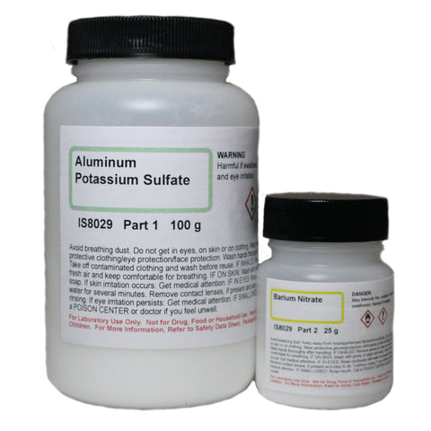 Analysis of Potassium Aluminum Sulfate 12 Hydrate AP Chemistry Classroom Kit