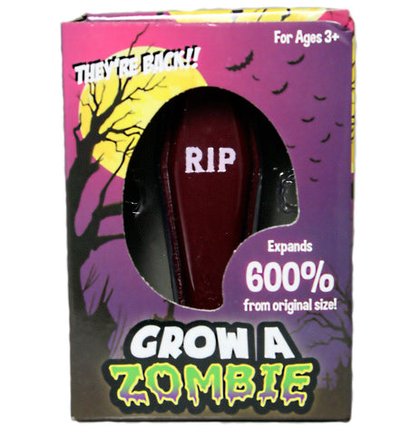 Grow A Zombie - Grows to 600% Original Size!
