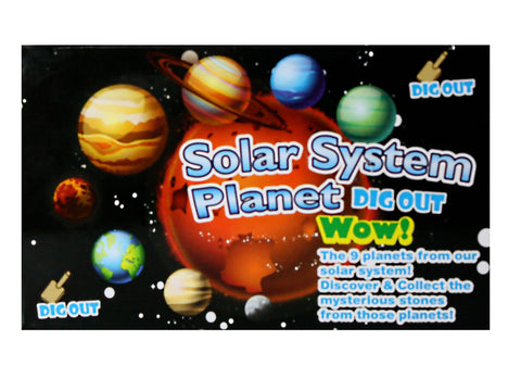 Solar System Planet Dig Out! - Dig Your Own Gemstone