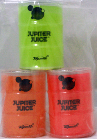 Jupiter Juice Slime by Toysmith Goopy Ooze! - Pack of 3 Neon Colors