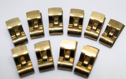 Fahnestock Clips Pk/10 Solid Brass Electrical Connector